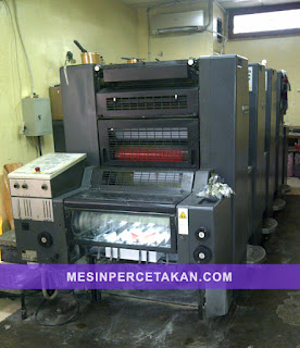 Heidelberg Speedmaster 52-4 colors printing machine