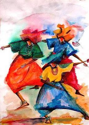Healingdance Art Print