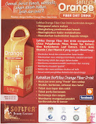 Softfea Orange Fiber Diet Drinks