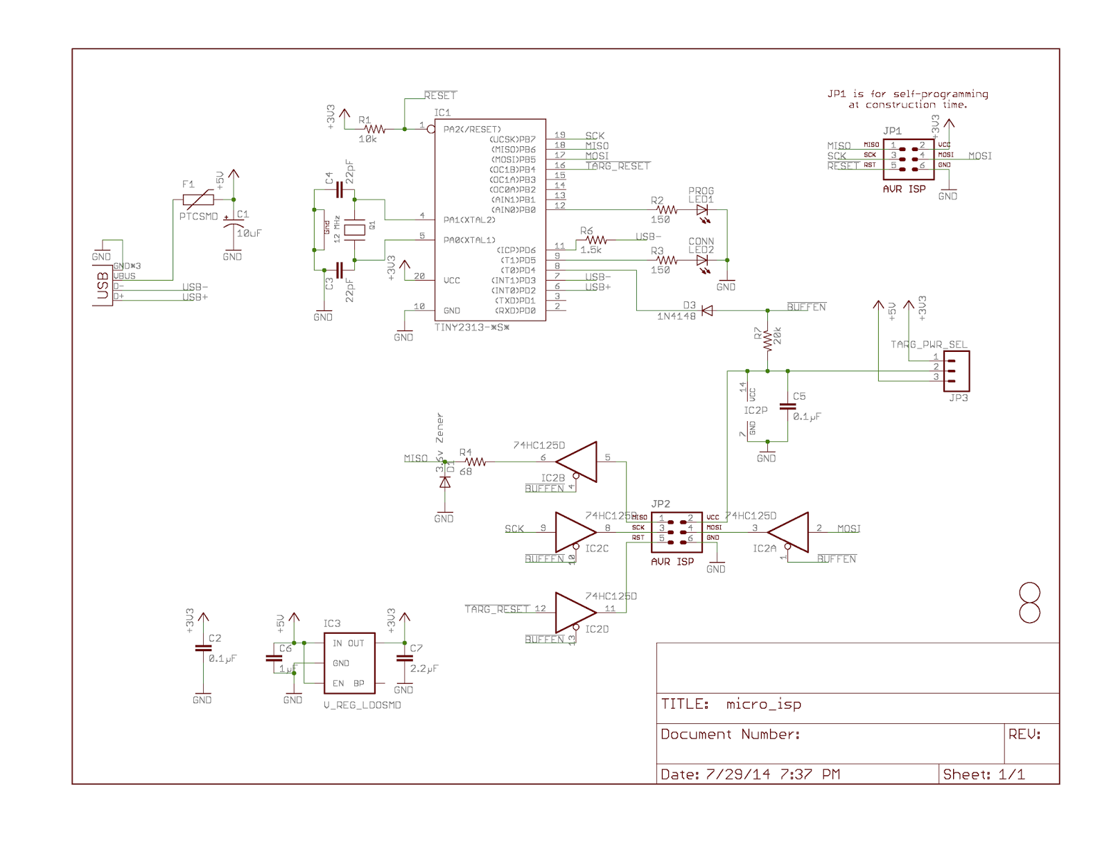 Geppetto Electronics July 2014 Transimpedance Amplifier Click The Image To View Fullsize Picture So Net Result Is That V02 Of Isp Should Be Able Program Avrs Operating At All Allowable Voltage Ranges And Can Optionally Power Either 33