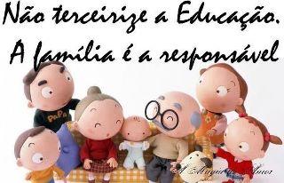 A escola ensina, os pais educam!