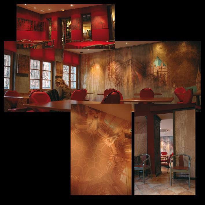 Les salons petit-déjeuner de l'Hôtel Cathédrale - Strasbourg