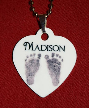 Personalized Footprint Necklace