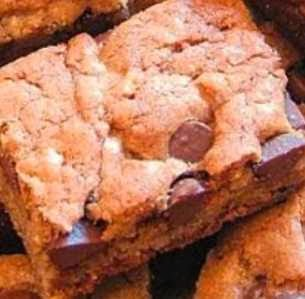 Simple Recipe Chewy Chocolate Chip Bar Cookies