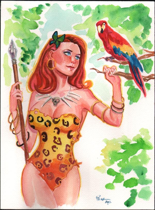 jungle girl p o r