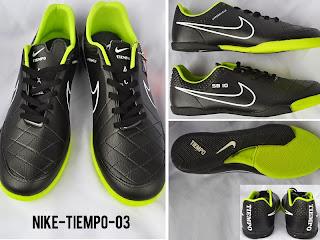 Sepatu Futsal NIke Tiempo Warna Hitam