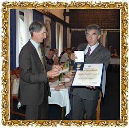 Славко Јовичић Славуј је први добитник тек установљеног највишег признања Општине ПАЛЕ - ПЛАКЕТЕ
