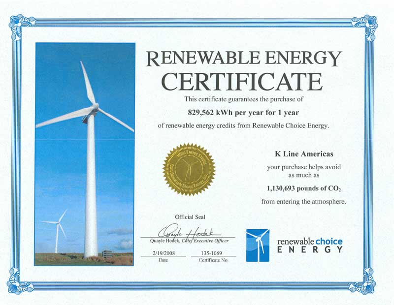 The World Of Clean Energy Defining A Renewable Energy Certificate