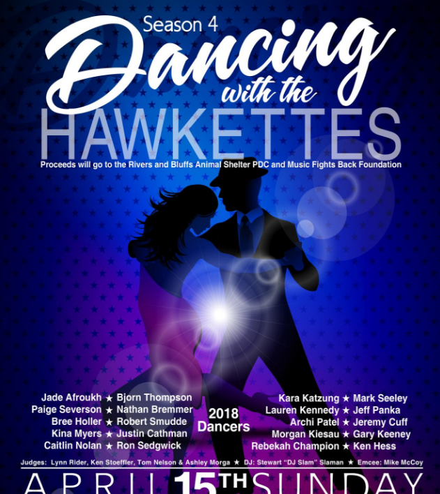 Dancing with the Hawkettes tickets, table reservations and votes i