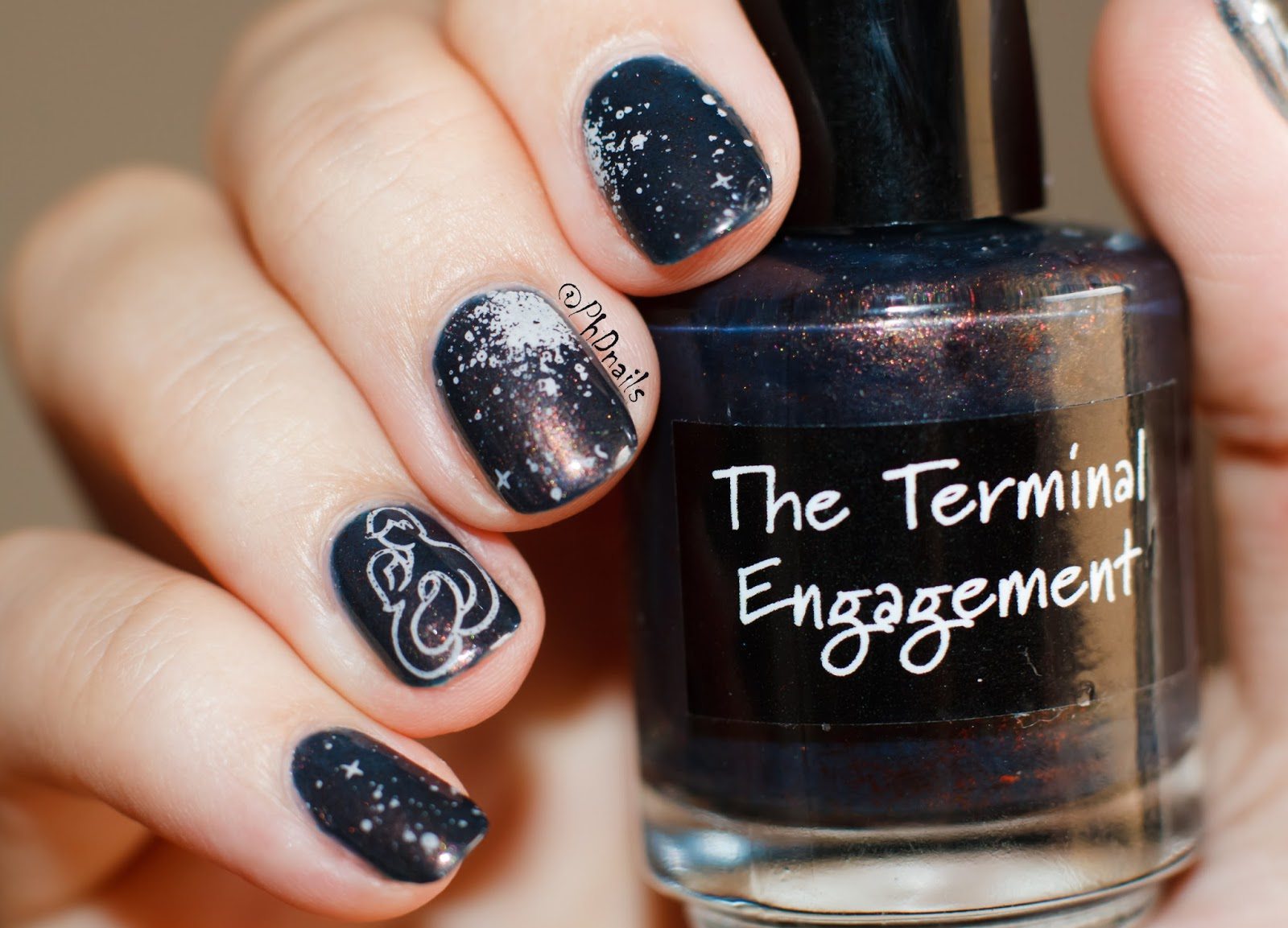 PhD nails: HPB presents: Crows toes Terminal Engagement with starry ...
