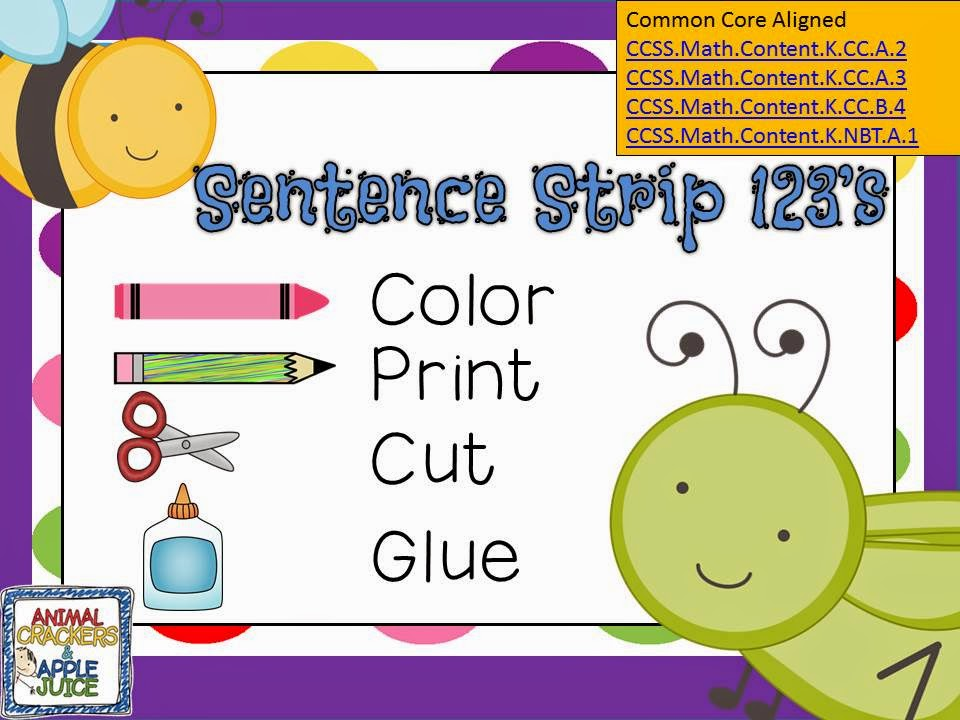 Sentence Strip Clip Art 97