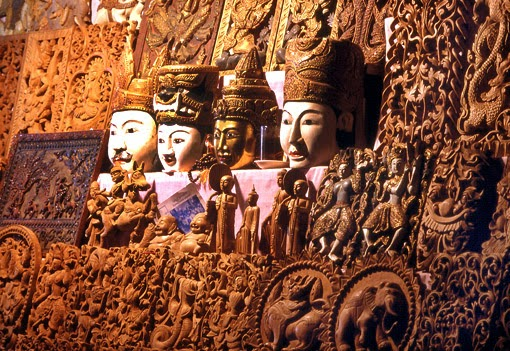 woodcarving art wall decoration