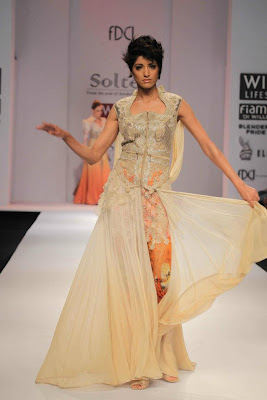 Sulakshana at Wills Lifestyle India Fashion Week - Autumn Winter 2012 Day 5