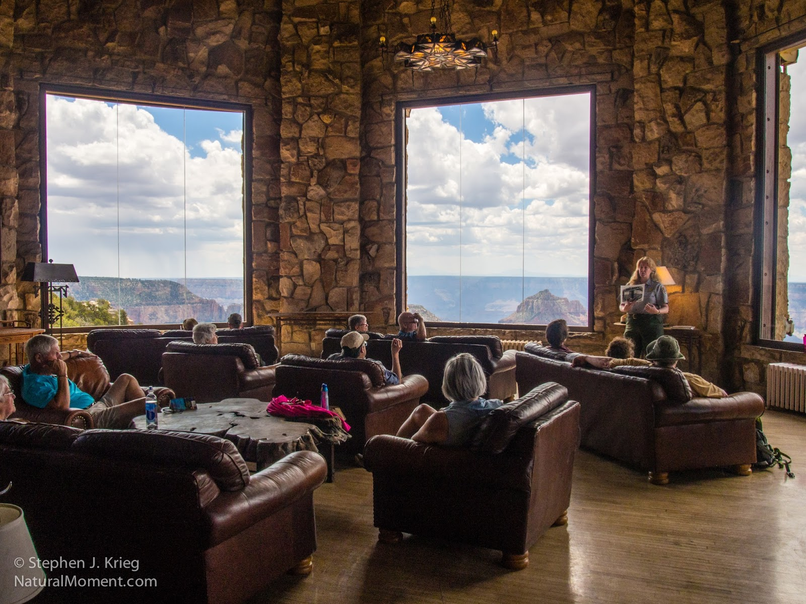 The Sun Room In Grand Canyon Lodge, North Rim Part 77