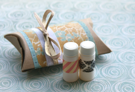 How to Make Handmade Perfume Oils - DIY Perfume Oil Recipe - Great as a Holiday Stocking Stuffer Gift Idea or as Party or Wedding Favors and Even Birthday and Mother's Day Gifts