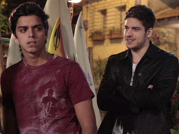 Marcos Pisossi e Rodrigo Simas
