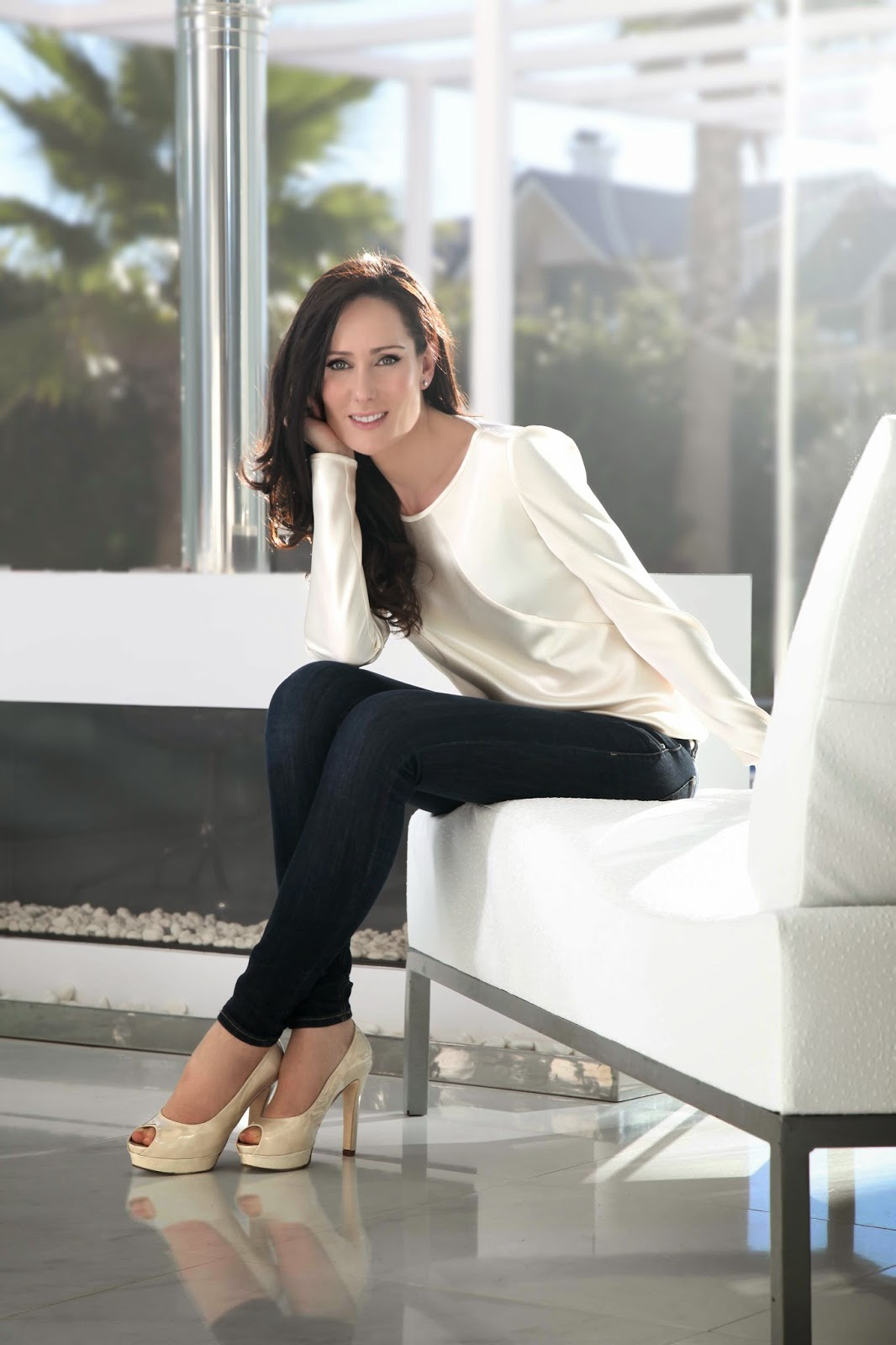 Isabel Zapardiez, diseñadora vasca de vestidos de novia de Alta Costura