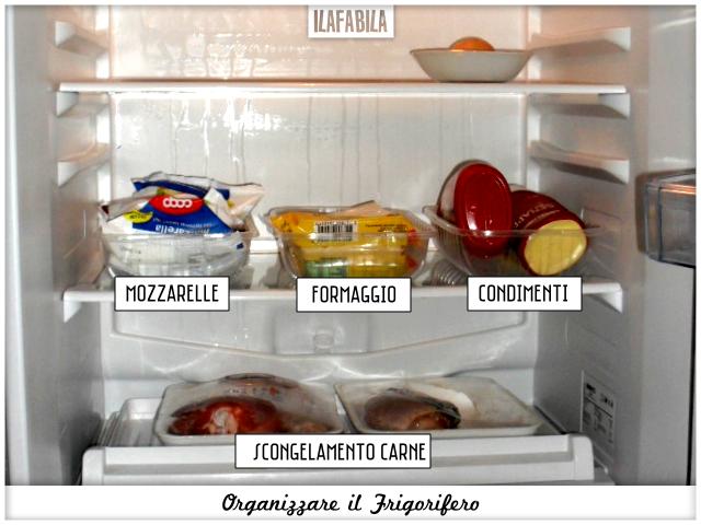 Cucina: organizzare il frigorifero