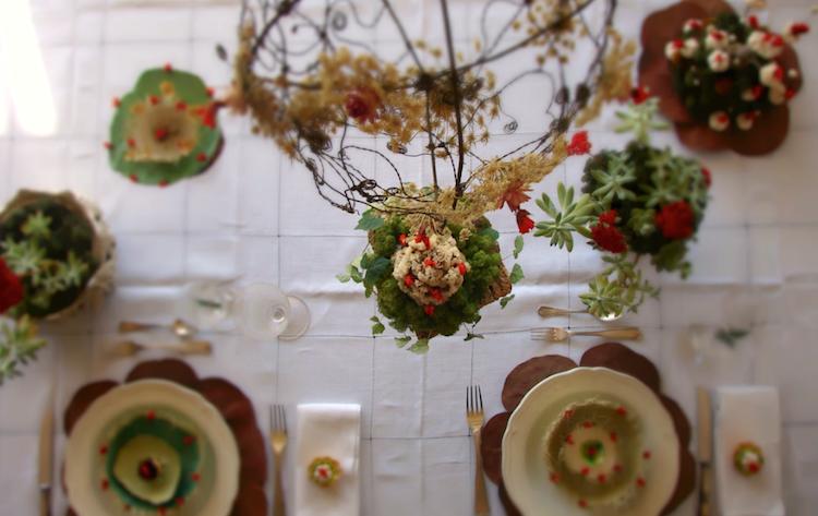 la tavola di Natale ad Abilmente 2014