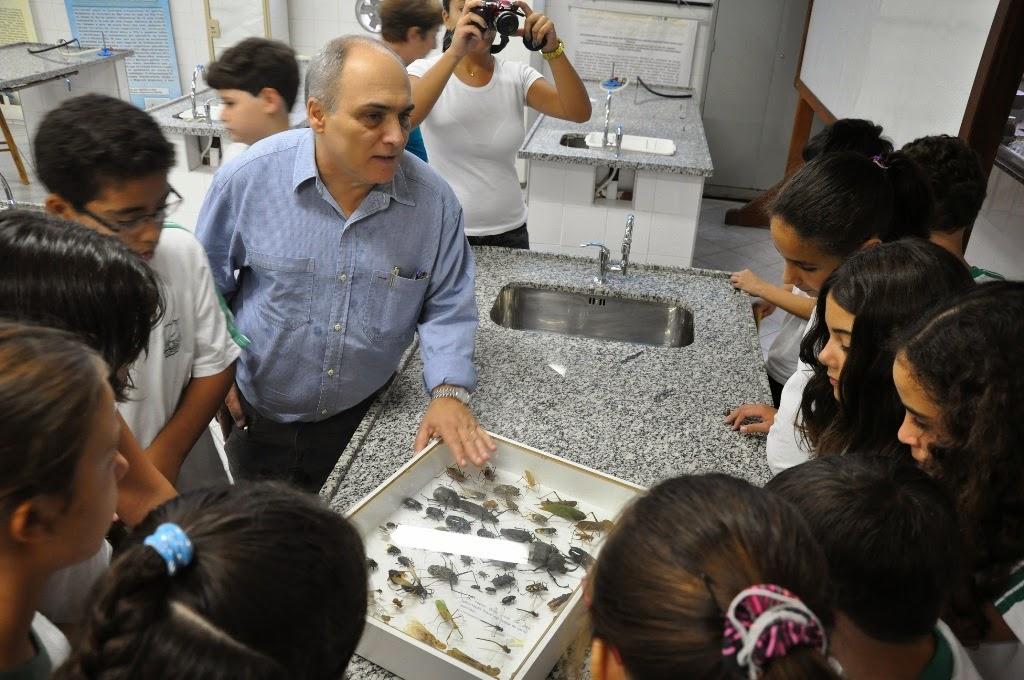 professor Carlos Alfredo Franco Cardoso-coordenador do curso de Ciências Biológicas