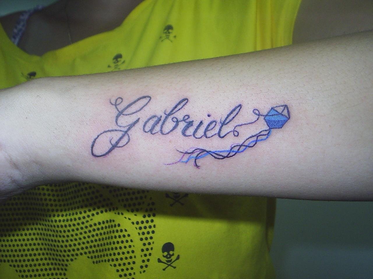 Tattoo nome gabriel da cliente eliete cultura e liberdade tattoo nome gabriel da cliente eliete altavistaventures Gallery