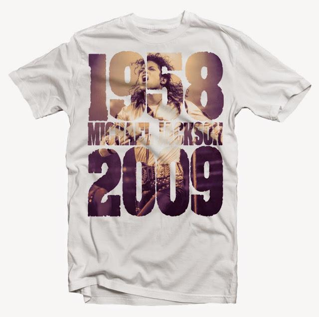 michael jackson tshirt design
