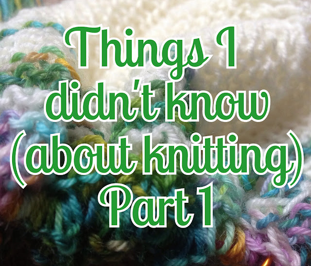 Things I Didn't Know about knitting by Sarah Knight, Crafts from the Cwtch blog