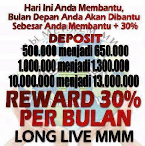 RAHASIA MIRACLE OF GIVING KOMUNITAS MMM INDONESIA
