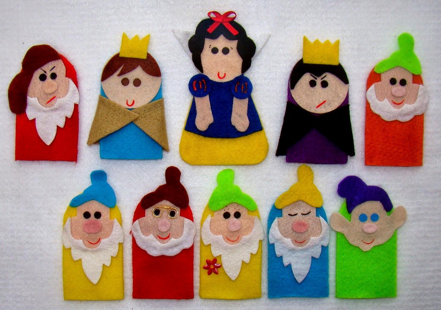 Dedoche Branca de Neve e os 7 anões