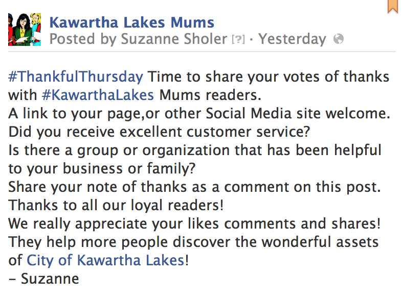 image Screen shot linked to original post Showing Posted By on Kawartha Lakes Mums