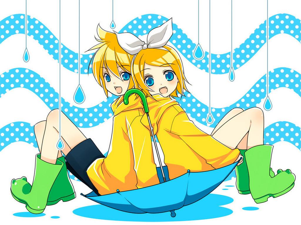 Kawaii Anime          Kagamine LenRin