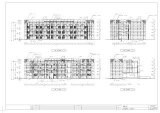 建設工事 仮設計画図 立面図2