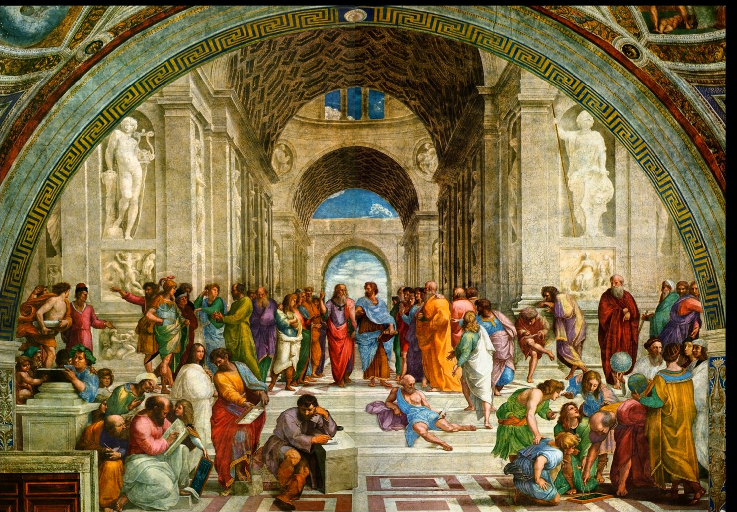 an analysis of ancient philosophers Summary and analysis chapter 2 - the economic revolution however, rather than emphasize any economic considerations, the ancient philosophers denounced economics in favor of basic questions about truth, good, evil, god, and life.