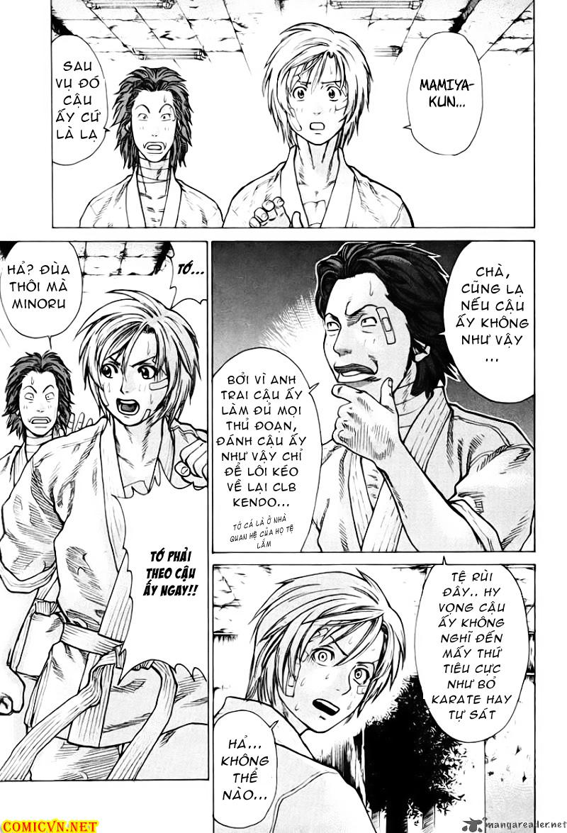 Karate Shoukoushi Kohinata Minoru chap 14 Trang 13