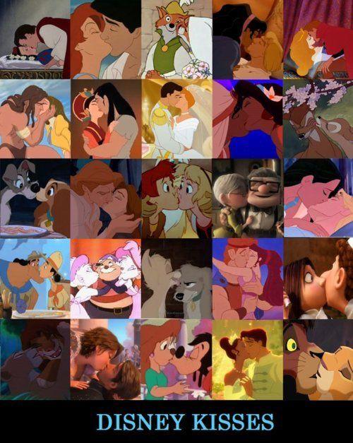 Coisas de Leitor: 15 Beijos Inesquecíveis da Disney - Especial Dia dos Namorados!!!