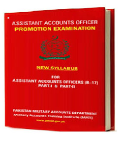 The syllabus of Assistant Accounts Officer Promotion Examination