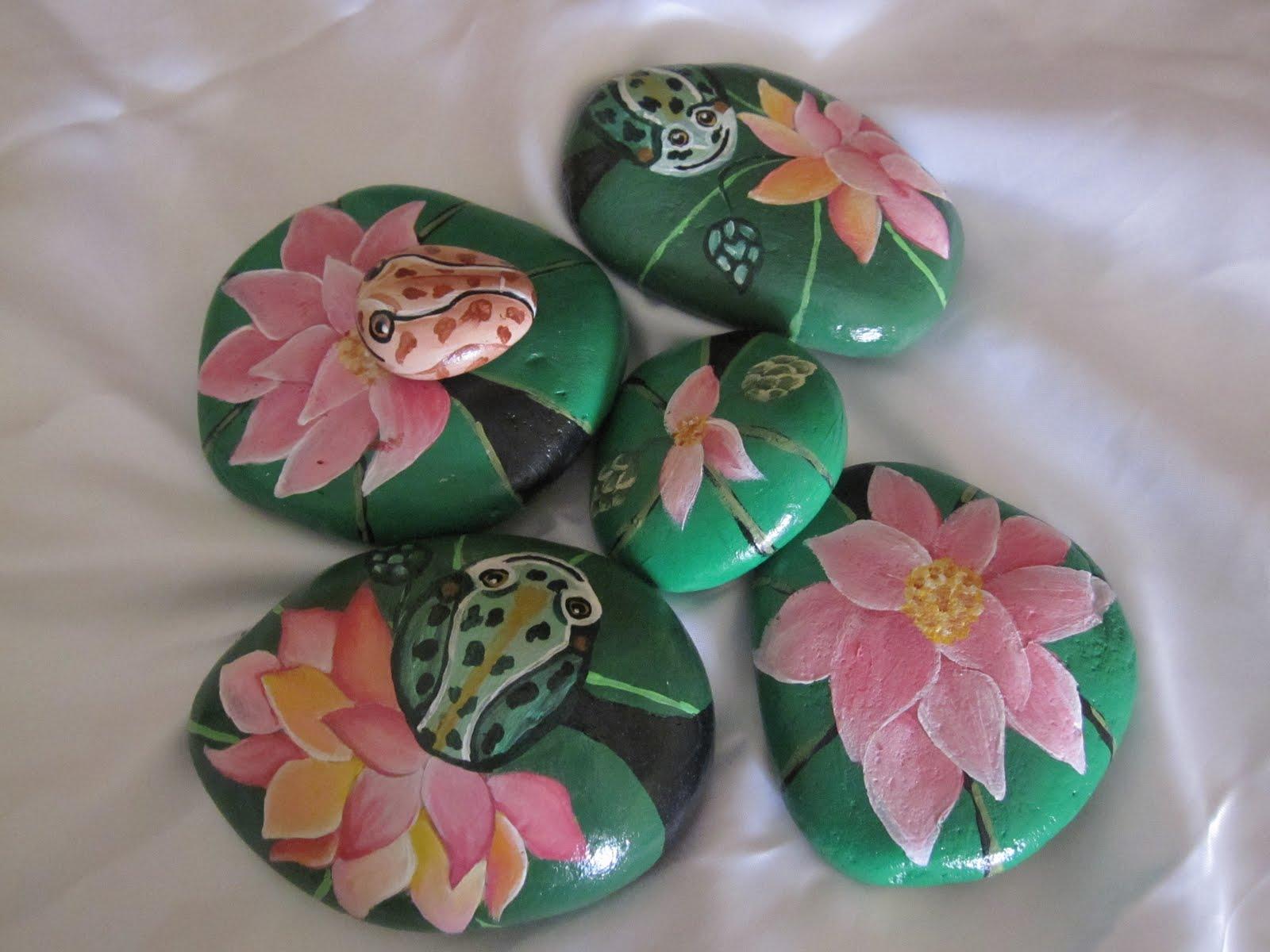 Lasmanualidadesdesule ultimas piedras pintadas del verano for Piedras pintadas a mano paso a paso