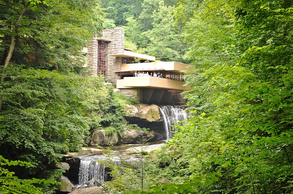 From The Website: Fallingwater Is The Name Of A Very Special House That Is Built  Over A Waterfall. Frank Lloyd Wright, Americau0027s Most Famous Architect, ... Part 83
