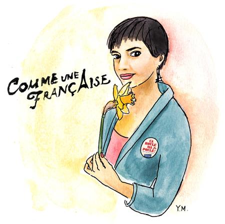 Géraldine - Comme une française by Yukié Matsushita