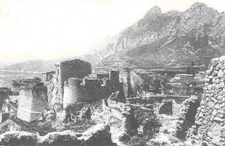 foto antigua del Castillo de Berga