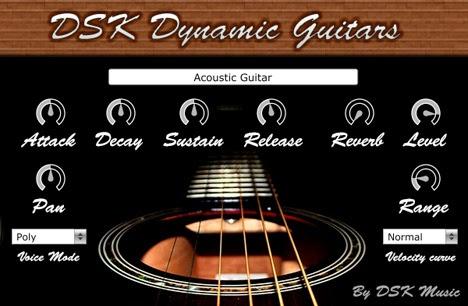 DSK Dynamic Guitars - Plugin de Violão Grátis