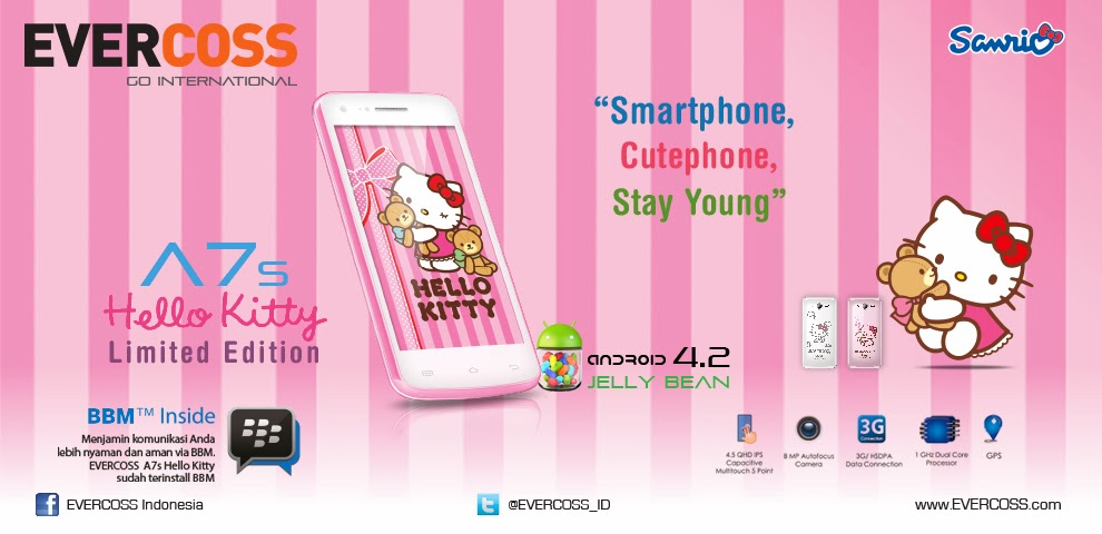 EVERCOSS A7S HELLO KITTY FIRMWARE