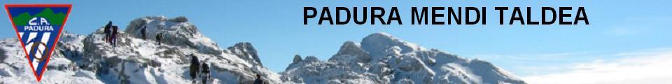 PADURA MENDI TALDEA / CLUB ALPINO PADURA