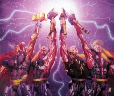 Galería de Portadores del Mjolnir - Thunder Corps