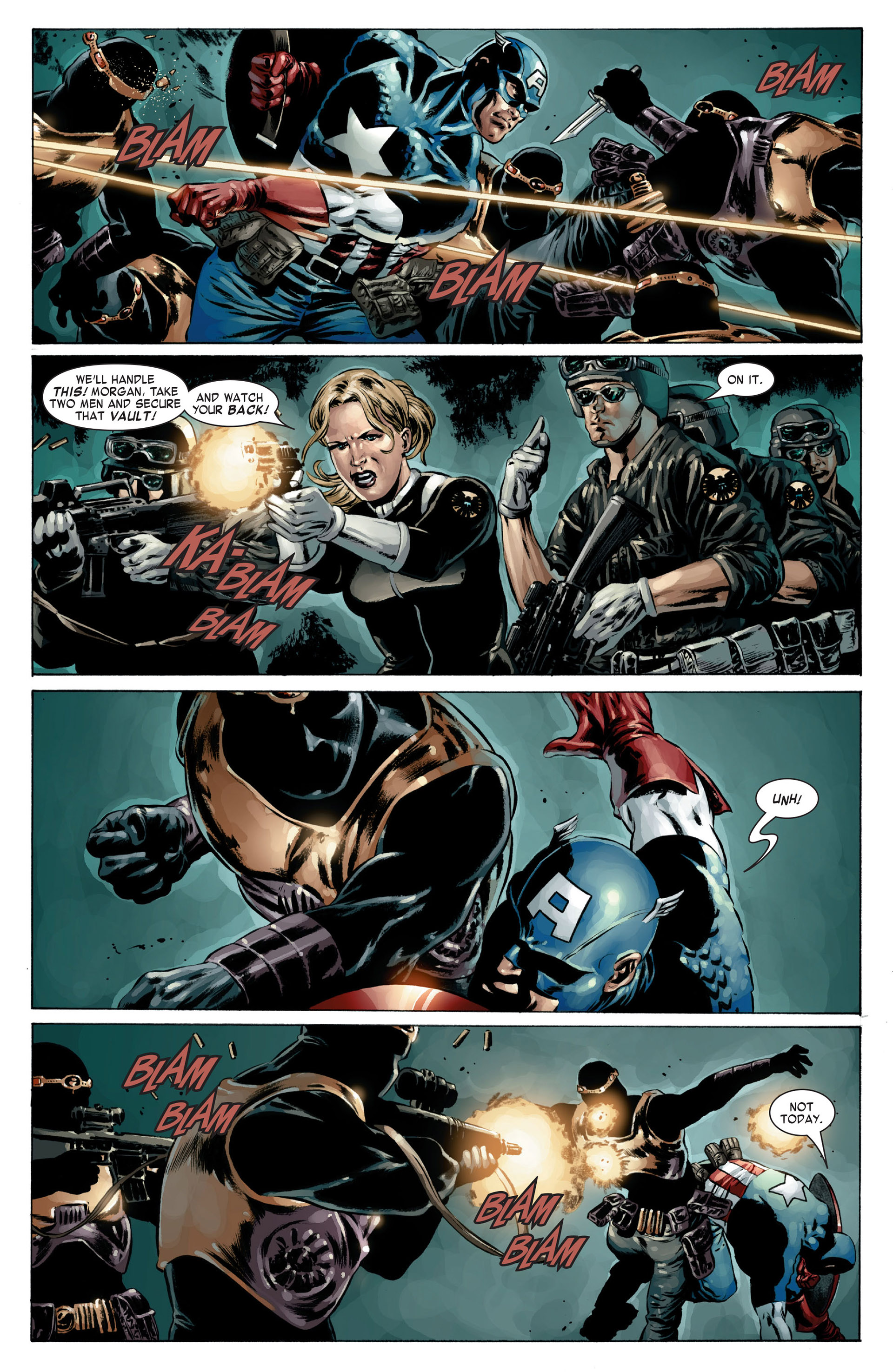 Captain America (2005) Issue #17 #17 - English 14