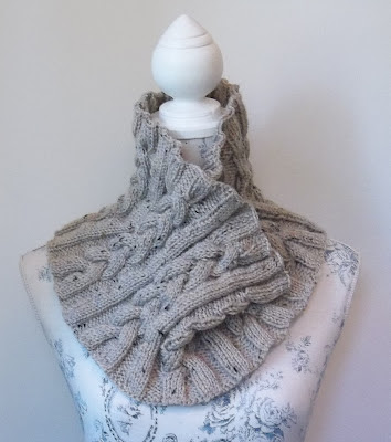 This fabulous new hand knitting pattern is so versatile, quick and