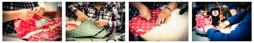Atelier de travail couture