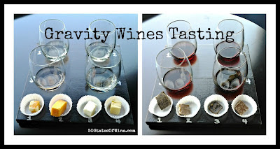 Gravity Wine Tasting Collage