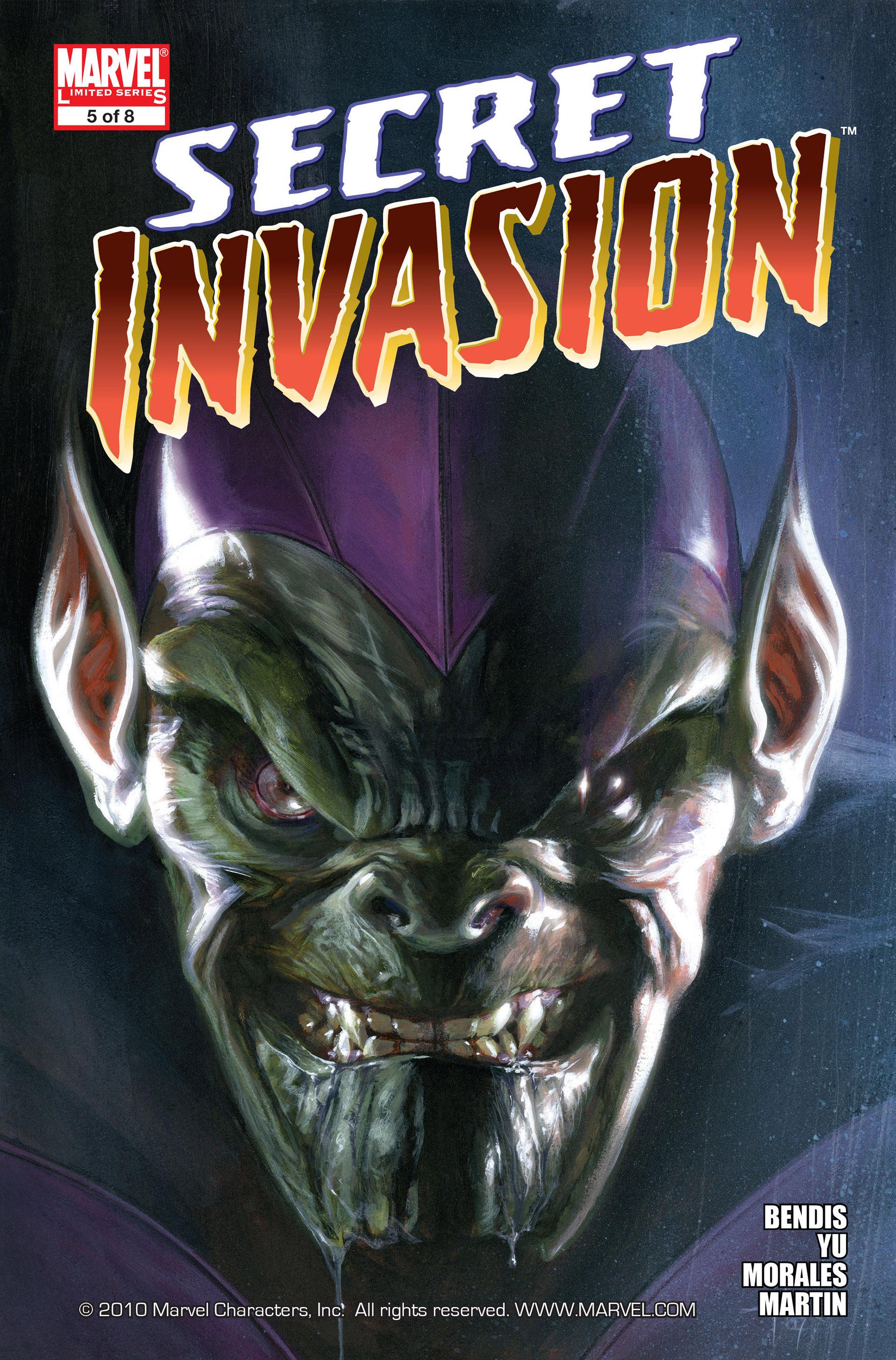 Read online Secret Invasion comic -  Issue #5 - 1