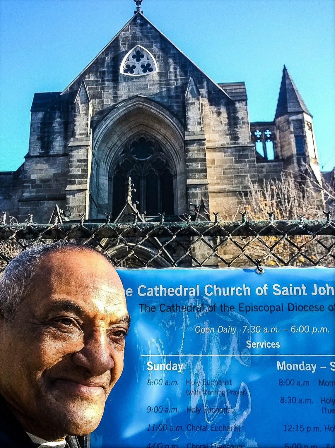 New York - A St. John's Cathedral's Staff Member 2015